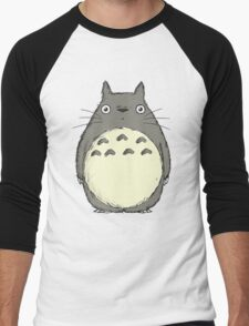 Tonari no Totoro Men's Baseball ¾ T-Shirt