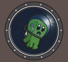 Astro Creeper in the Space by SpinaOscura