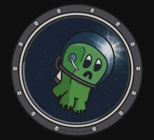 Astro Creeper in the Space Kids Clothes