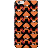 Squid - Orange/Red iPhone Case/Skin