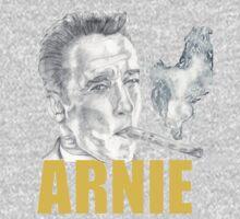 Arnold Schwarzenegger Portrait T-Shirt