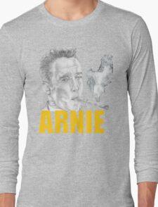 Arnold Schwarzenegger Portrait Long Sleeve T-Shirt