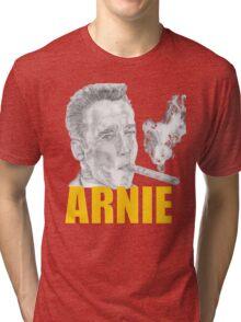 Arnold Schwarzenegger Portrait Tri-blend T-Shirt