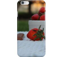 Delicious combination iPhone Case/Skin