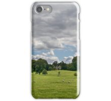 Sheep Grazing the Meadow iPhone Case/Skin