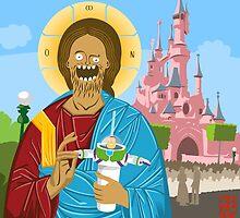 Jeeezus in Disneyland by dead82