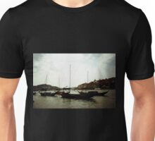 Rabelo boats at sunset Unisex T-Shirt