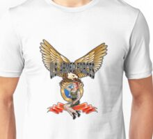 U.S. Armed Forces - The Lethal Threat with Pin Up Girl Unisex T-Shirt