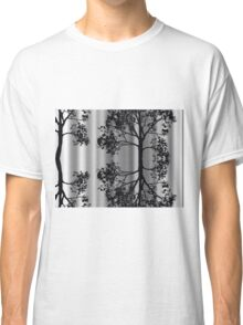 Silver Birch Abstract Classic T-Shirt