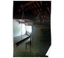 Big Bell in a Buddhist Temple Poster