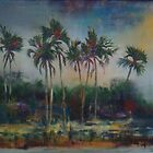 Ilala Palms on the Zambezi by Gigi Guimbeau