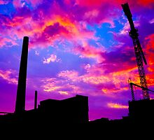 industry sunset by Sheeplawyer  Studios Augsburg