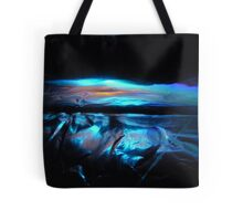 ICE BLUE SUNSET Tote Bag