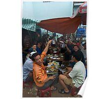 Daytime Drinking in Saigon Poster