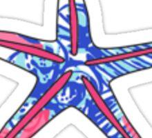 lilly starfish Sticker