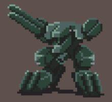 Metal Gear Pixel by explosivebarrel