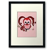 Love Owl  Framed Print