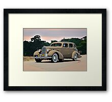 1935 Oldsmobile L35 Four Door Sedan Framed Print