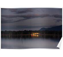 lake fyans,grampians Poster
