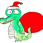Crocodile Santa by Henbury School