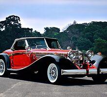 1934 Mercedes Benz 500K Roadster 'Replica' by DaveKoontz