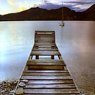 Jetty - Lake Maggiore by MartinWilliams
