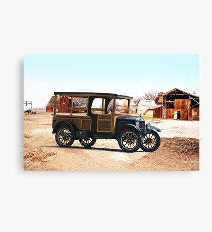 1926 Ford Model T Utility Truck Canvas Print