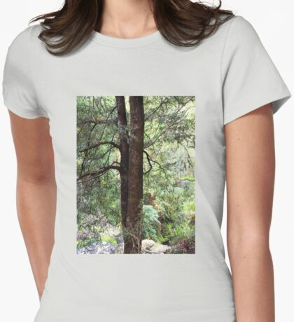 Standing tall Womens Fitted T-Shirt