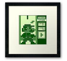Tetris Bros. Framed Print