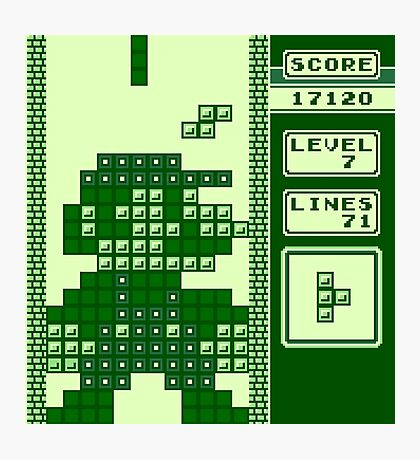 Tetris Bros. Photographic Print