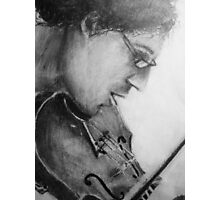 il violino Photographic Print