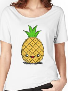 Cute Pineapple Women's Relaxed Fit T-Shirt