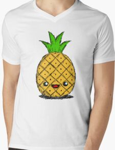 Cute Pineapple Mens V-Neck T-Shirt
