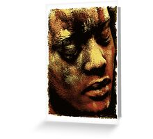 Colour Face 2 Greeting Card