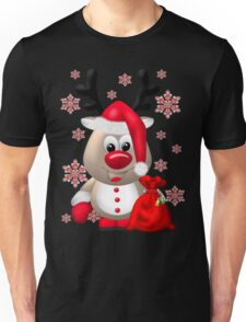 Red Nose Reindeer  Unisex T-Shirt