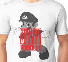 STRAIGHT OUTTA WORLD 1-1 Unisex T-Shirt