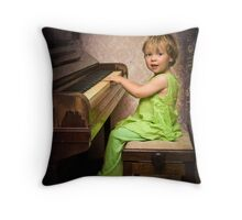 ...the piano... Throw Pillow