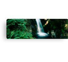 Glowing waterfall Canvas Print