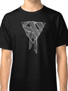 Organic Geometry (White Ink) Classic T-Shirt