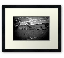 Rural Ruins Framed Print