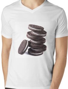OREO Mens V-Neck T-Shirt