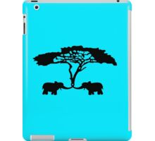 The Funny Elephants geek funny nerd iPad Case/Skin