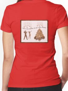 here's a chrissy tee for you all.... Women's Fitted V-Neck T-Shirt