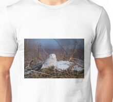 Snowy Owl on Hill Top - Amherst Island, Ontario T-Shirt