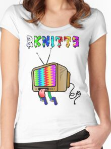 TeleTrippin Women's Fitted Scoop T-Shirt