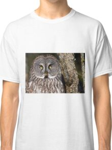 Great Gray Owl Classic T-Shirt