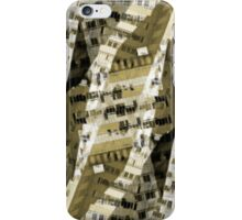 Abstract city buildings iPhone Case/Skin