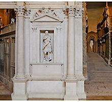 Poscard from Teatro Olimpico, Vicenza by Paul Weston