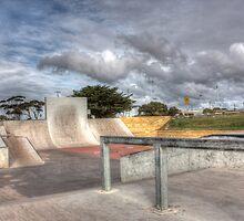 Devonport Skatepark - HDR by thefallenone