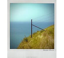 Cliff Polaroïd Photographic Print